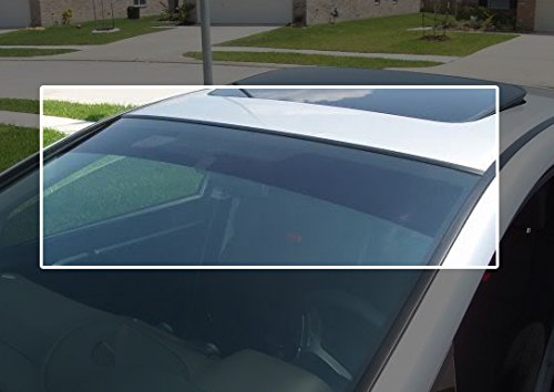 TRUE LINE Automotive Precut Windshield Sun Visor Window Tint Strip For Toyota Tercel 2 Door Coupe 1995-1999