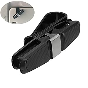 Auto Car Sun Glasses/Glasses Holders for Car Visors - Multicolor - Perfect Storage Organizer - Easy Clip On System - Car Holder Cash Money Card Holder - Also Ideal for Holding Cards (1PACK)