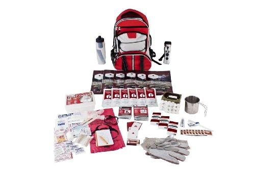 Guardian Survival Long Term Food Storage Emergency Kit, Red Backpack by Guardian Survival Gear