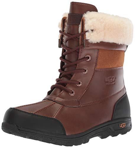 (UGG Unisex-Kids K Butte II Cwr Snow Boot, Worchester, 5 M US Big)
