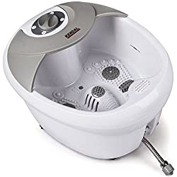 All in one Large Safest foot spa bath massager w/heat
