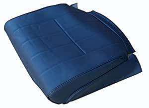 Amazon.com: Volvo 240 245 Seat Covers Original Upholstery Blue Vinyl New Pair Interior Color ...