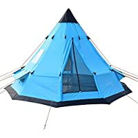 SAFACUS Teepee Tent for Adults 5-6 Person...