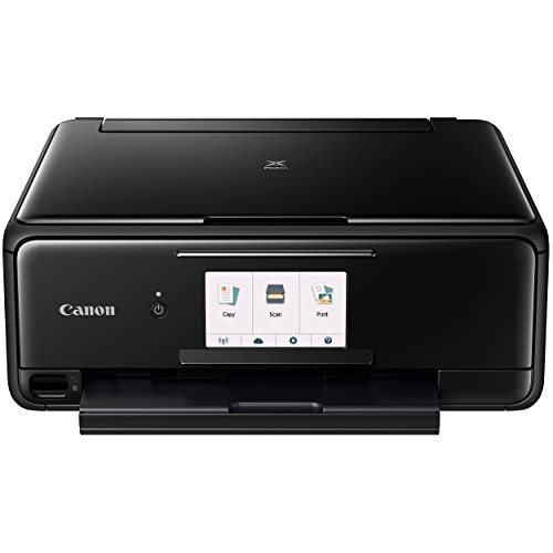 Canon TS8120 Wireless All-In-One Printer with Scanner and Copier: Mobile and Tablet Printing, with Airprint(TM) and Google Cloud Print compatible, Black by Canon