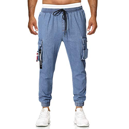 (ES Gym Clothes Mens Gym Clothes Office Crop Different Informal British Home House Colourful Strings shortm Prices Stripes Sorts Longer Cutoffs Overtrousers Regatta Tracksuit go Outdoors Berg Blue)