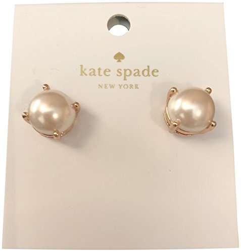 Rose Blush Type (Kate Spade Blush Rose Gold Pearl Stud Earrings)