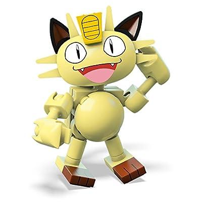 Mega Construx Pokemon Meowth Building Set: Toys & Games