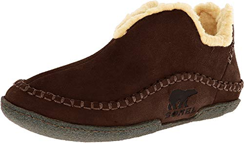 Sorel Men's Manawan NM1466 Slipper,NM1466,Bark, 11 D - Medium