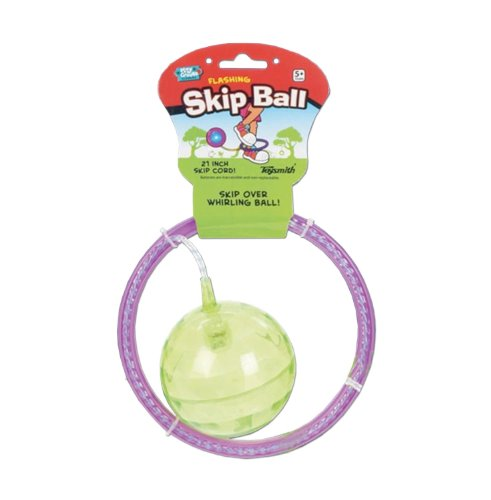Toysmith TSM9418 Flashing Skip Ball