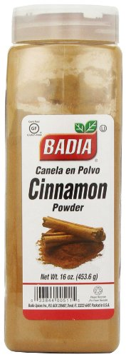 Badia Cinnamon Powder, 16-Ounce (Pack of 6) by Badia