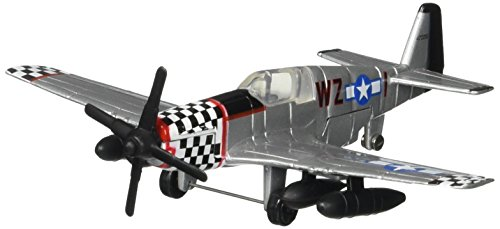 Hot Wings P-51 Mustang Connectible Runway Vehicle