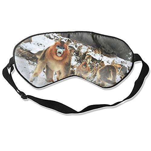 ask, Blindfold, Super Smooth Eye Mask (Golden Snub Nosed Monkey) ()