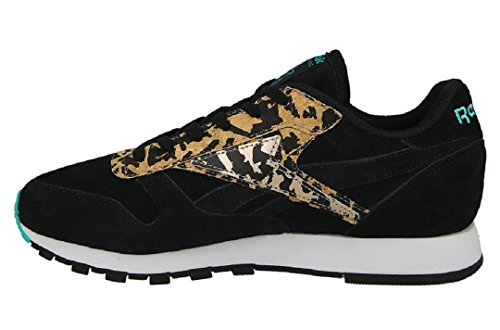Reebok, Sneaker donna nero Black/Timeless Teal/Rose Gold/White