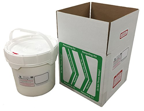 EZ on the Earth Dry Cell Battery (3.5 Gallon) Recycle - Recycling Battery Dry Cell