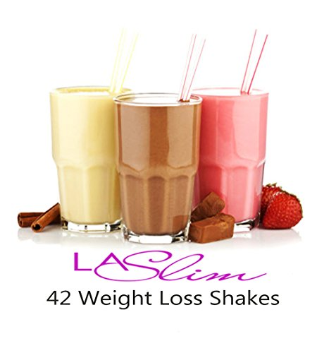 42 VLCD Diet Shakes with Whey Protein, Meal Replacement Shake, For Fast...