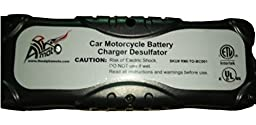 Alphamoto 7 Stage 12v 24v Automatic Motorcycle Car Truck Vehicles ATV Moto Cross Boats Trucks Cars Water craft Golf carts Lawn Mower Smart Battery Charger Tender Maintainer