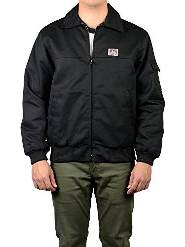 (Ben Davis Mechanics Jacket (374) (Black, 3X-Large))
