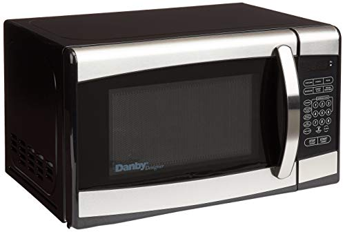 Danby Designer Small Black/Stainless Steel Countertop Microwave