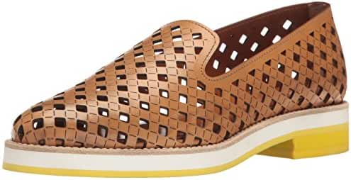 Aquatalia by Marvin K. Women's Zanna Perforated Calf Slip-on Loafer