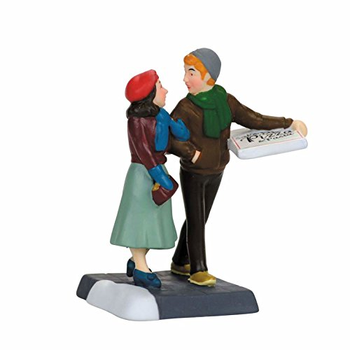 Department 56, Christmas in the City Pizza Date (Park City Halloween 2017)