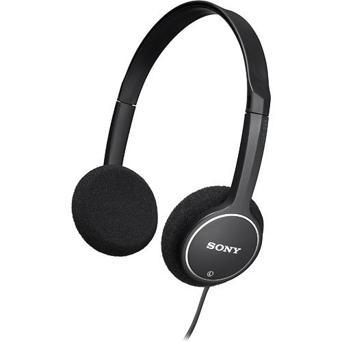 Sony Lightweight Children's Stereo Headphones (Black)