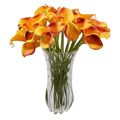 NONZERS Artificial Silk Flowers Bouquet Calla Lilies Lily Seeds Bulbs Calla Lily Lily Photo Album