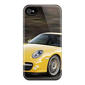 TRJYm6113LFYMZ LifeLeader Awesome Case Cover Compatible With Iphone 4/4s - 2010 Porsche 911 Turbo