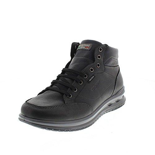 Sneaker Uomo Alta Grisport Pelle Nera UOqAqPw