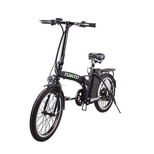 (NAKTO Folding Electric Bicycle Lightweight and Aluminum Folding EBike,Electric Bicycles for Adults ...)
