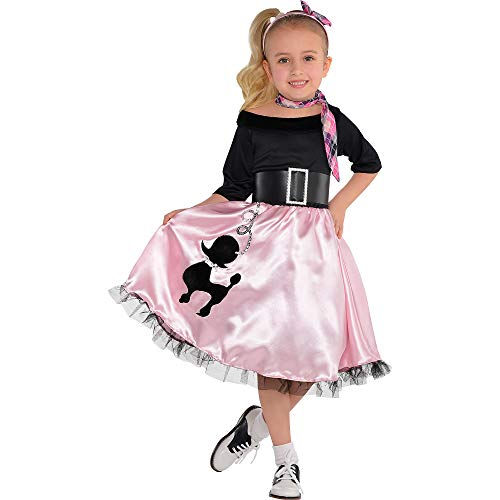 amscan Miss Sock Hop | Fashionable 40s | Toddler (3-4) -
