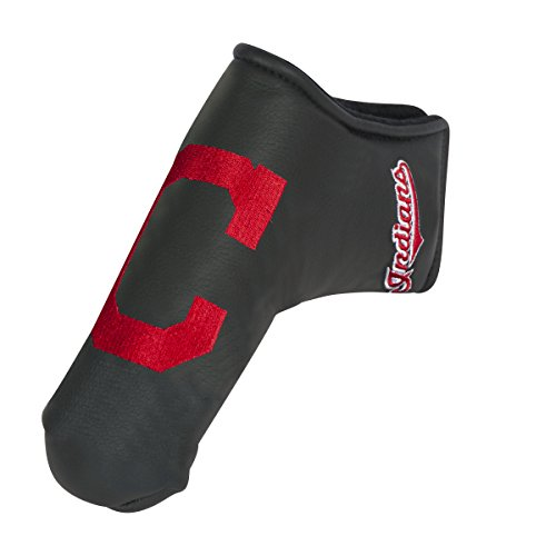 Team Effort MLB Cleveland Indians Black Blade Putter Coverblack Blade Putter Cover, NA ()