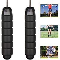 gootrades Jump Rope for Kids Adults Fitness with Ball Bearings, Tangle-Free Adjustable Skipping Rope for Workout with Comfortable Memory Foam Handles,Steel Wire Speed Rope- Get&Stay Fit, Lose Weight