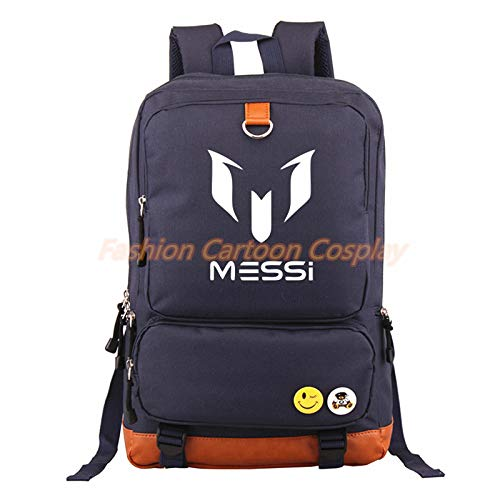 Amazon.com: Logo Messi Backpacks Teenagers School Bags Backpack Women Laptop Bag Men Barcelona Travel Mochila Bolsas Escolar: Kitchen & Dining