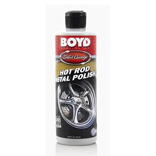 MACs Auto Parts 16-380300 Boyd Coddington Hot Rod Metal Polish, 16 Ounces
