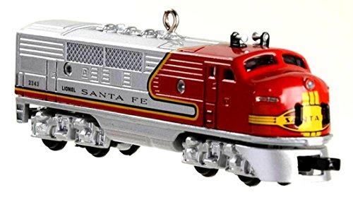(Hallmark 1997 1950 Santa Fe F3 Diesel Locomotive )