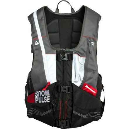 SnowPulse Highmark Vest - RAS - Gray by Snowpulse (Image #1)