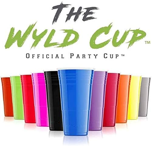 Wyld Gear 24 oz White Insulated Stainless Steel Party Cup Tumbler