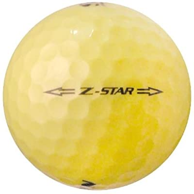 Srixon 50 Z-Star Yellow - Value (AAA) Grade - Recycled (Used) Golf Balls