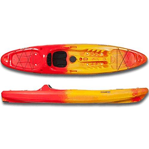 Perception Access 11.5 Kayak, Red/Yellow