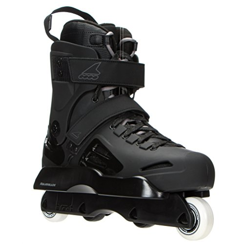 - Rollerblade - Rb Solo Team Street Skate - Iconic Pro Level Gear - Black - US Men's Size 8, US Size 8