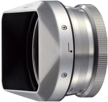 Nikon UR-E24 Filter Adapter and HN-CP18 Lens Hood Set for COOLPIX A Camera Silver
