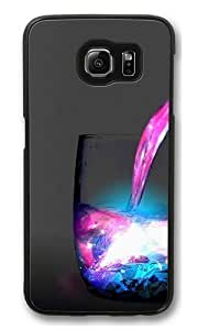 colored water PC Case Cover for Samsung S6 and Samsung Galaxy S6 Black Kimberly Kurzendoerfer