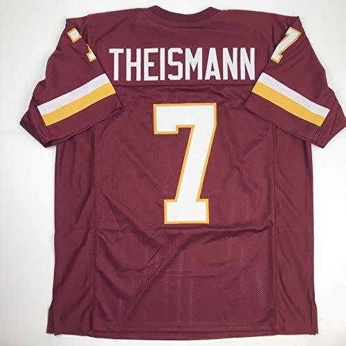 Unsigned Joe Theismann Washington Burgundy Custom Stitched Football Jersey Size XL New No Brands/Logos (Theismann Jersey)
