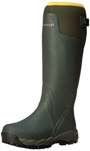 "LaCrosse Men's Alphaburly Pro 18"" Hunting Boot,Green,9 M US"