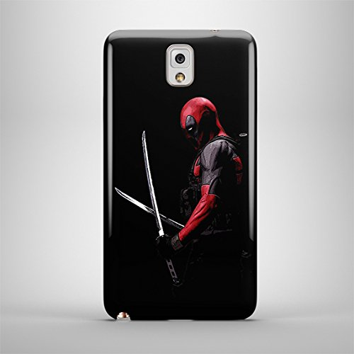 Deadpool, Other Characters & Emblems for Samsung Galaxy Note 3 Hard Case Cover (Zbor17)