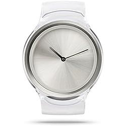 ZIIIRO Z0007WTT Unisex Ion Transparent Watch