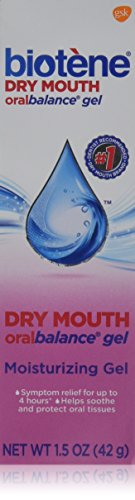 [Biotene Oralbalance Dry Mouth Moisturizer Gel 1.50 oz ( Pack of 5)] (Medications Dry Mouth)