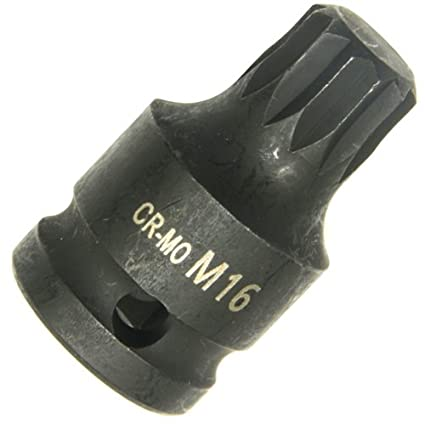 KURZ Doppel-Sechskant//Doppel-6-kant M18 Kraft IMPACT Bit//Bits/ätze Steckschl/üsseleinsatz Schraubendreher-Eins/ätze 12-KANT//Zw/ölfkant Vielzahn XZN Bit//Bits/ätze CR-MO