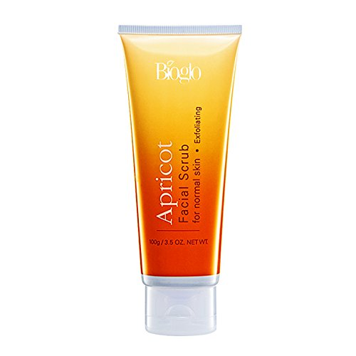 MUST BUY ! 10 Tube COSWAY Bioglo Apricot Facial Scrub For Normal Skin ( 100g )
