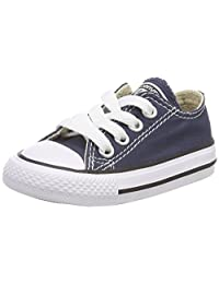 Converse Low Top Navy Blue Baby Boy Shoes 7J237 (7)